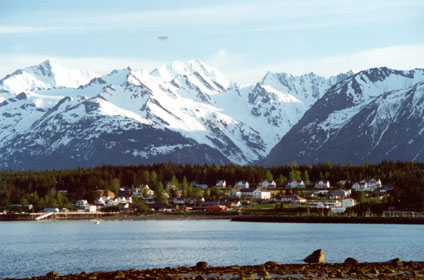 Fort Seward in Haines Alaska