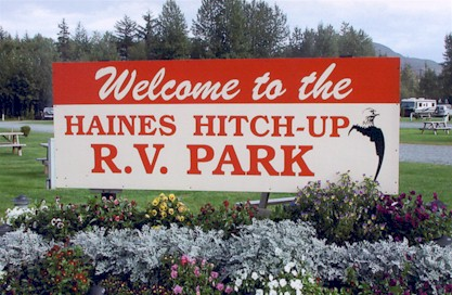 Welcome to Haines Hitchup RV
