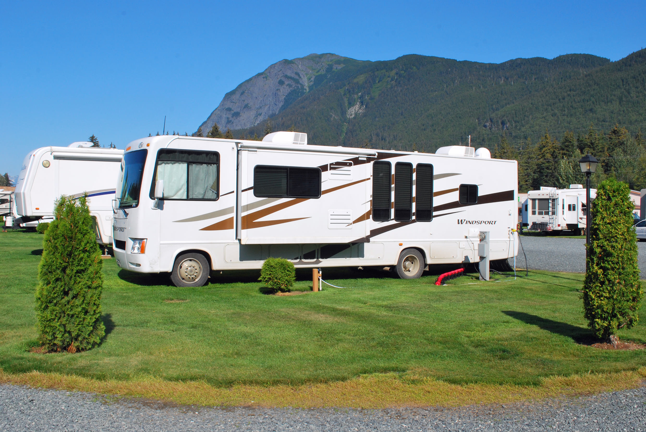 Haines Hitchup RV Pull Through Sites